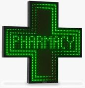 Pharmacy LED Cross Sign Smart 900